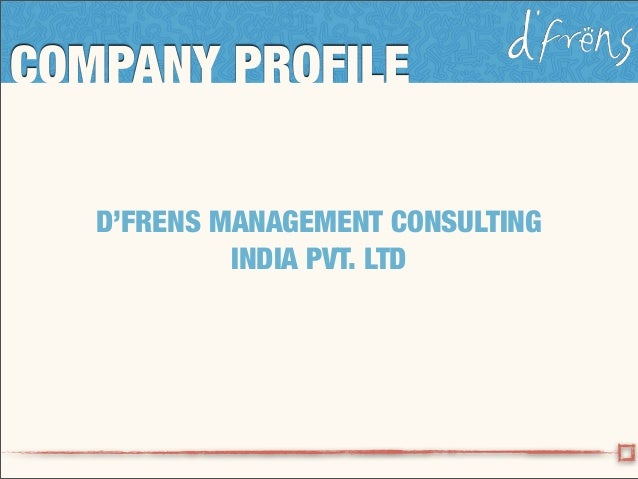 D'frens Team Building in India - company profile