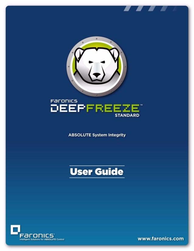 Deep Freeze Standard User Guide |1