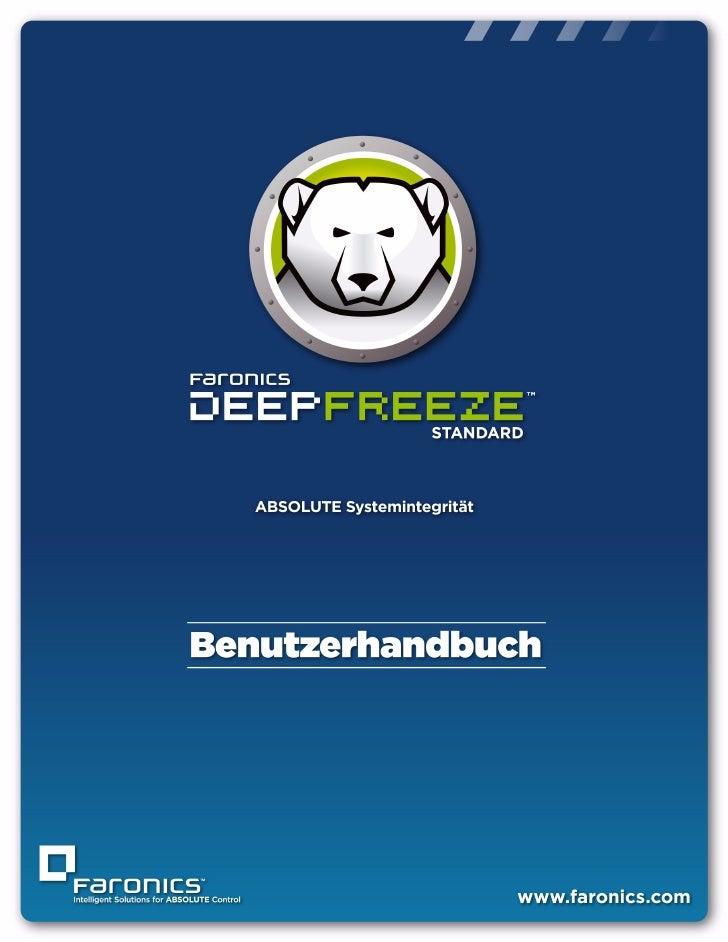 |   1Deep Freeze Standard Benutzerhandbuch
