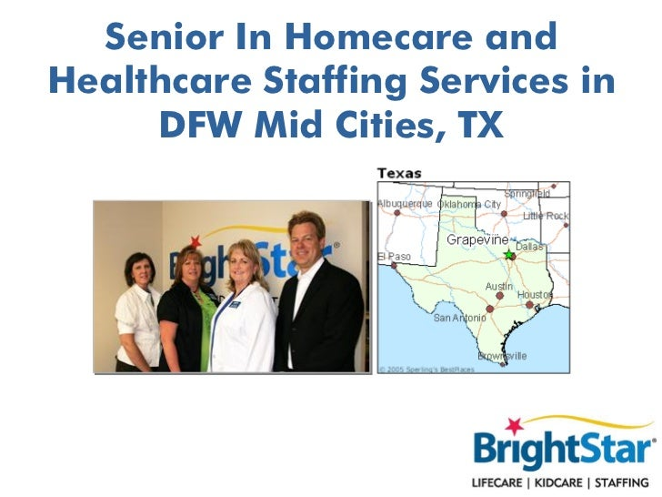 Senior In Homecare andHealthcare Staffing Services in     DFW Mid Cities, TX