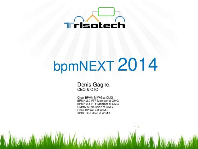 Introducing Trisotech BPMN Process Animator bpmNEXT 2014