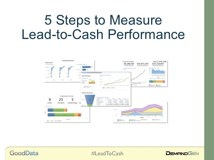 5 Steps to MeasureLead-to-Cash Performance          #LeadToCash