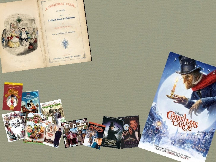 A Christmas Carol      The Evolution:   From Print To Digital