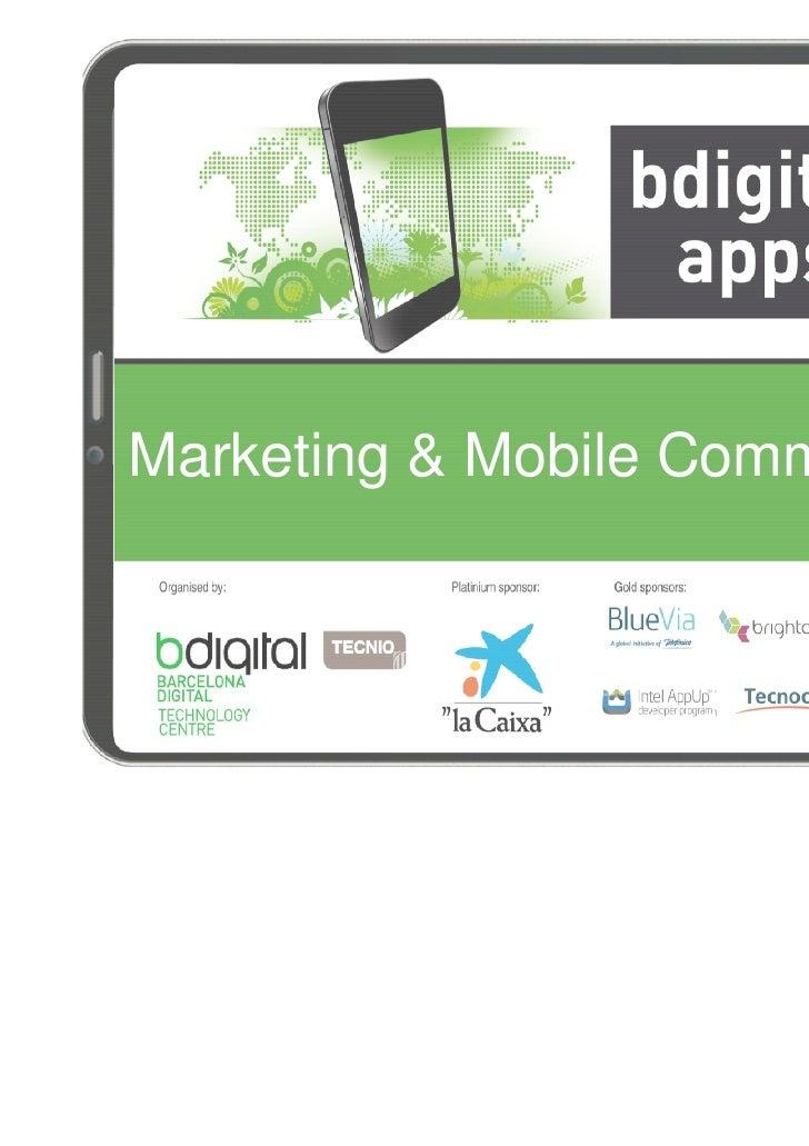 Marketing & Mobile Commerce