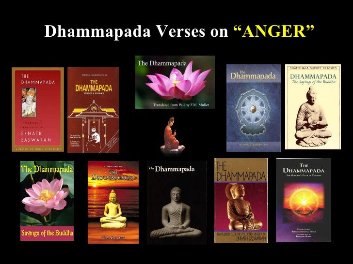 "Dhammapada Verses on ""ANGER""                                    1"