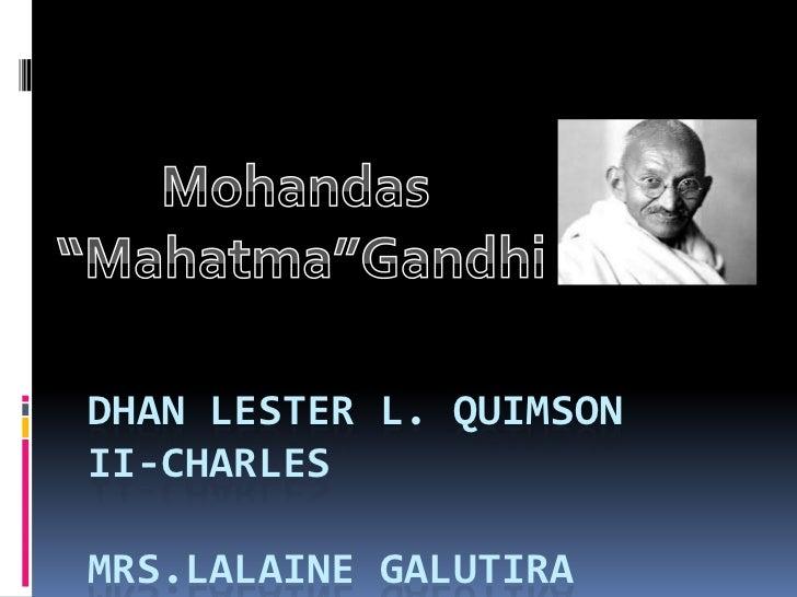 DHAN LESTER L. QUIMSONII-CHARLESMRS.LALAINE GALUTIRA
