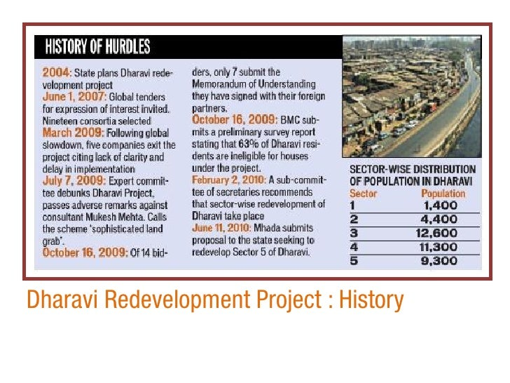 Dharavi: Developing Asia's Largest Slum (A)