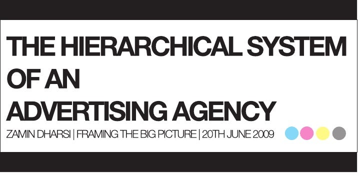 The Hierarchical System of An Advertising Agency