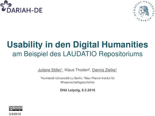 Juliane Stiller1, Klaus Thoden2, Dennis Zielke1 1Humboldt-Universität zu Berlin, 2Max-Planck-Institut für Wissenschaftsges...
