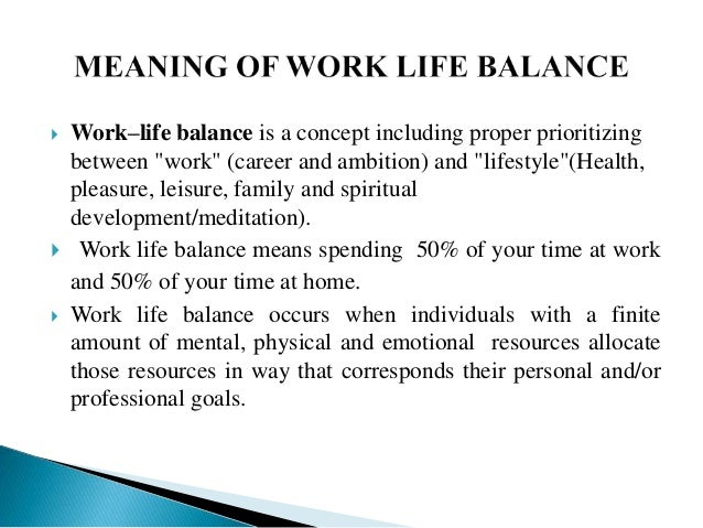 essay on balance between professional and personal life Take action get a good balance between work and life action 47 recognising the need to be flexible as personal  work-life balance:.