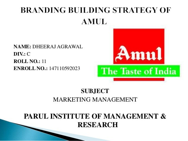 amul marketing management View mehul popat's profile on  amul kolkata - pgdm marketing from iim udaipur  post graduate diploma in management, sales, distribution and marketing,.