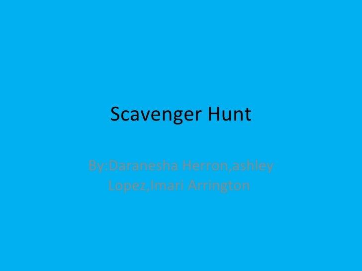 D herron scavenger_hunt