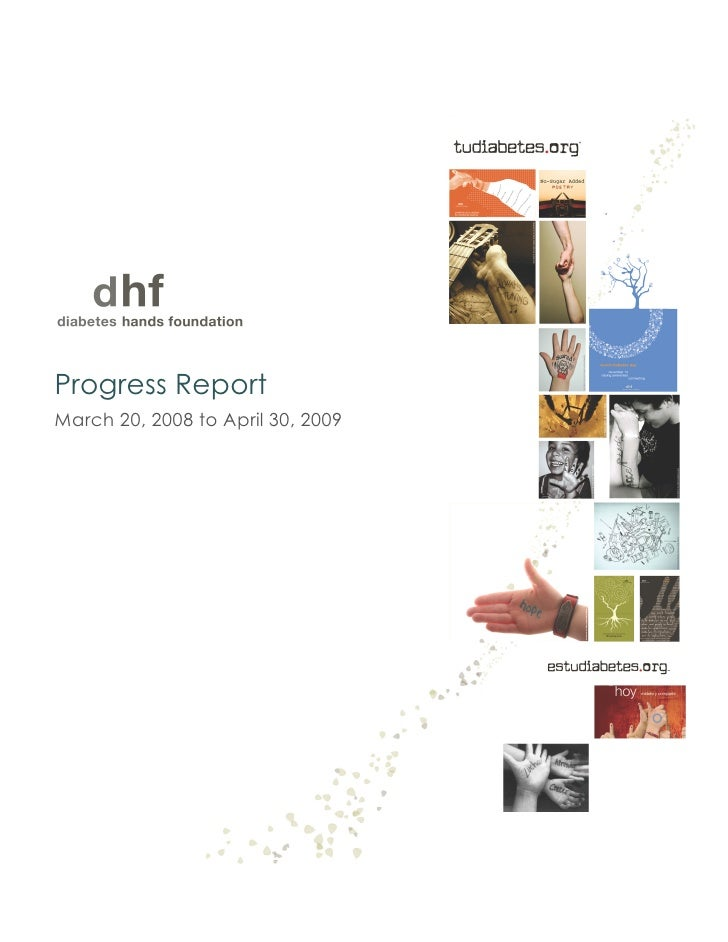 DHF - Progress report 2009
