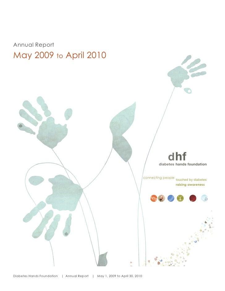 DHF – Progress Report 2010