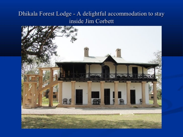Dhikala forest lodge   a delightful accommodation to stay inside jim corbett