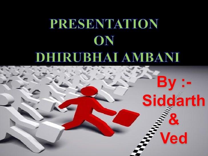 Dhirubhaiambani