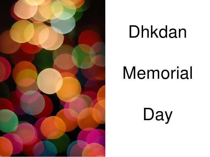 DhkdanMemorial  Day