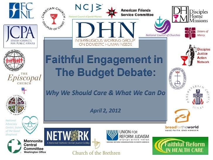 Dhn budget webinar april 2 2012 final