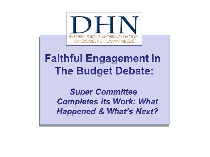 DHN Nov 23 Budget Webinar