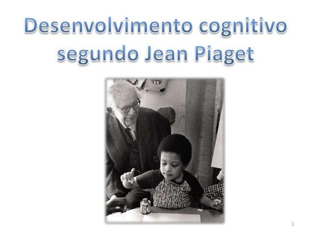 Desenvolvimento Humano Piaget 1