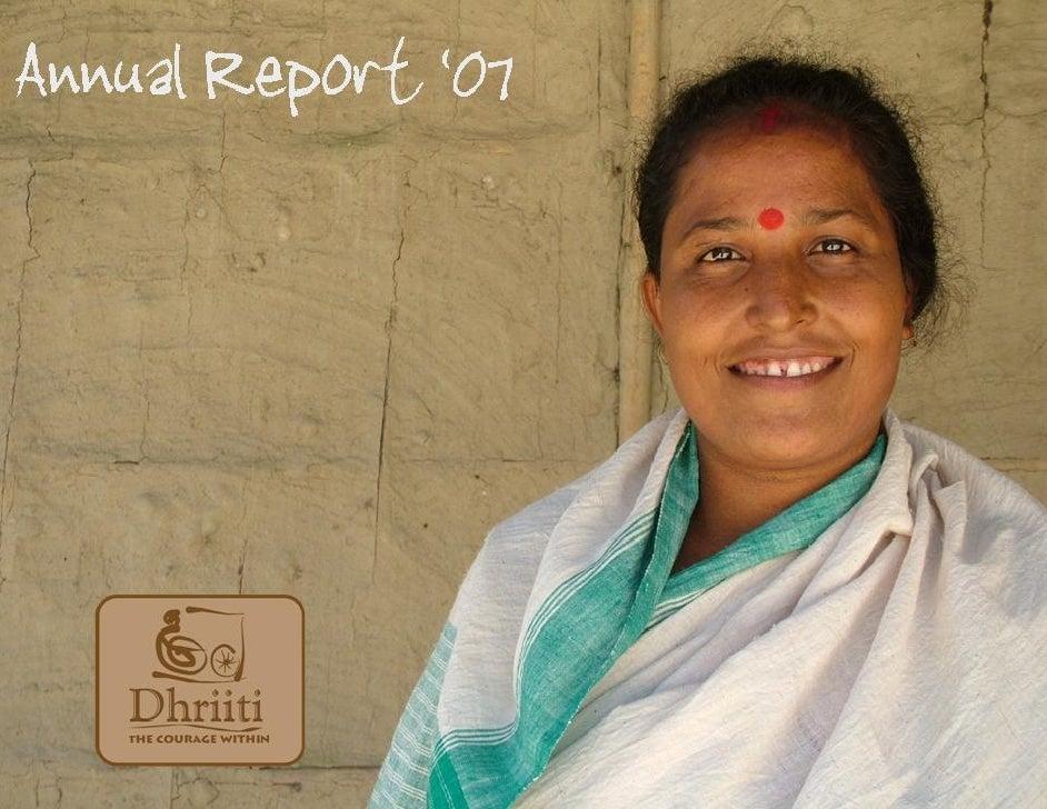 Contents Director's Report       EDC Report     MEDM Report       RFC Report   Financial Report