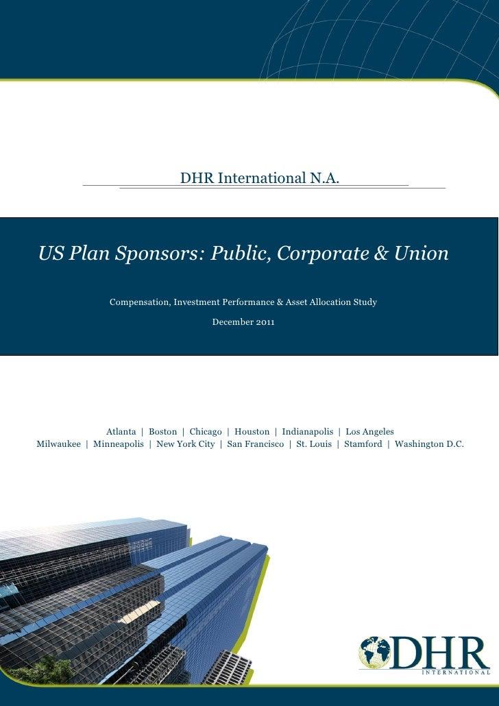 US Plan Sponsors 2011