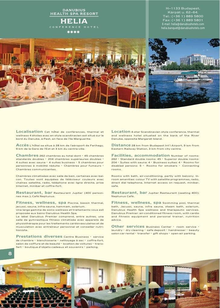 Danubius Spa Resort Helia in Budapest, Hungary