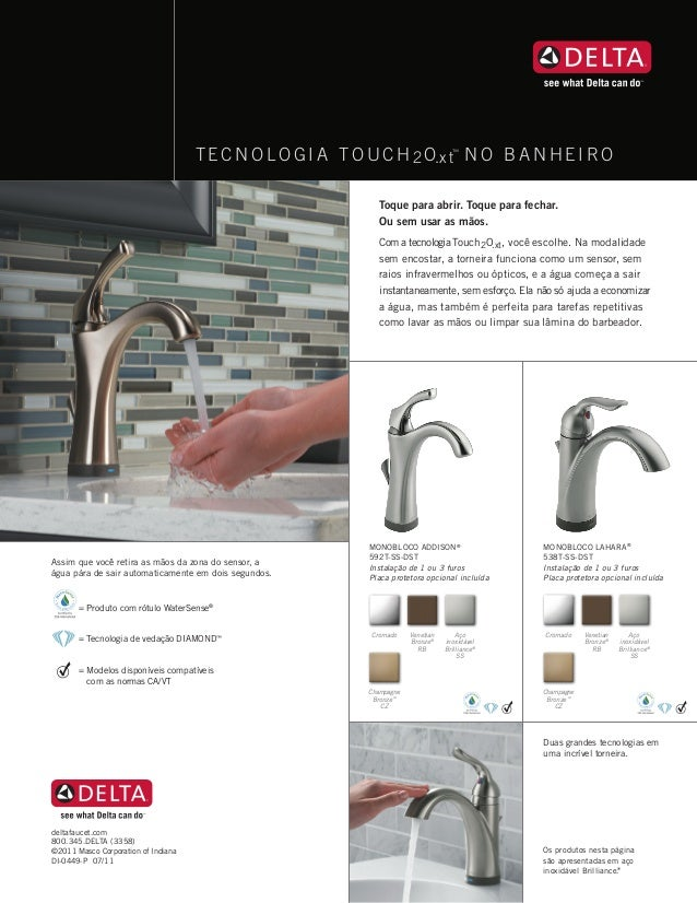 Tecnologia Touch no Banheiro