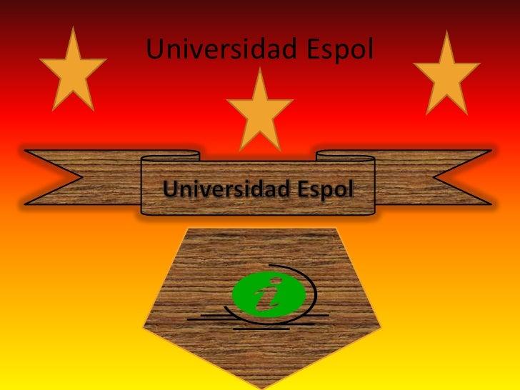 Universidad Espol