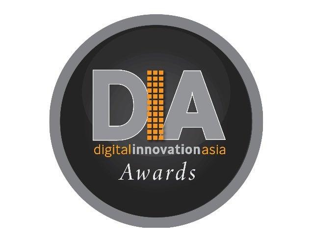 Dia Awards  Winners 2013