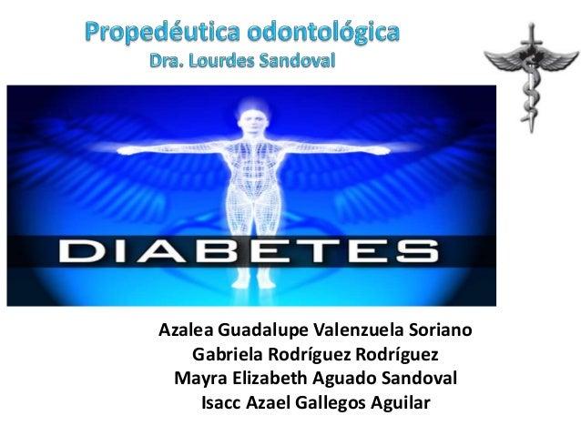 Diabetes y su relacion con la odontologia