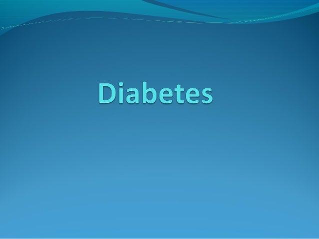Diabetes diabetic