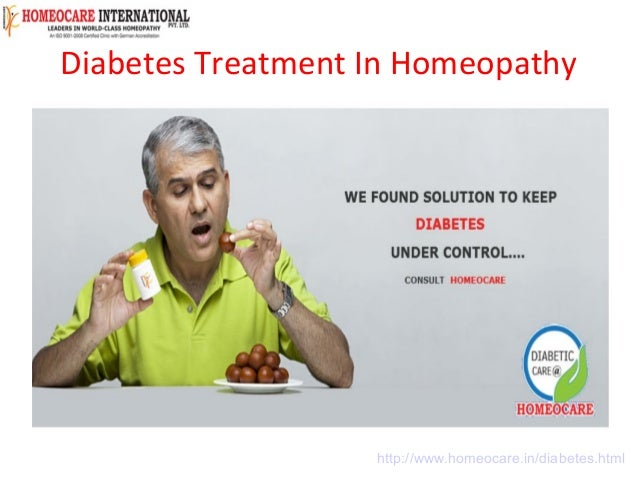 Diabetes Treatment In Homeopathy | Diabetes Treatment