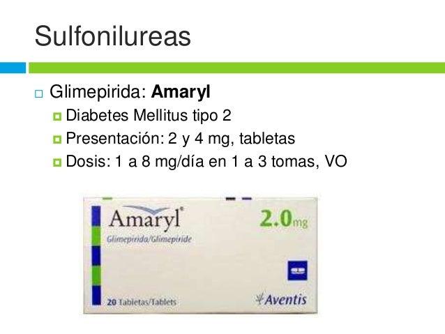 Farmacología de Diabetes