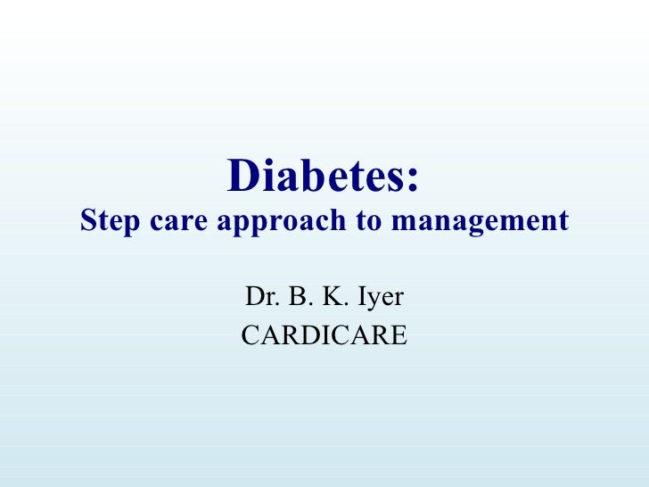 Diabetes Step Care Approach
