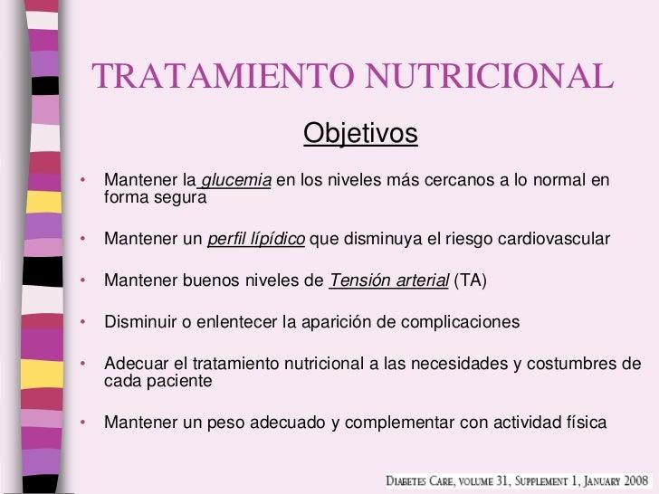 Diabetes - tratamiento no farmacologico
