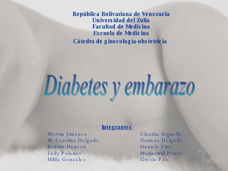 República Bolivariana de Venezuela Universidad del Zulia Facultad de Medicina Escuela de Medicina Cátedra de ginecología-o...