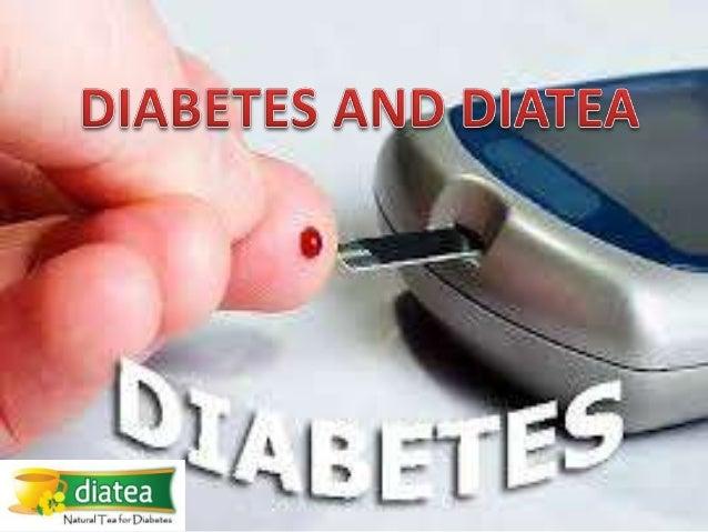 Diabetes and Natural Tea