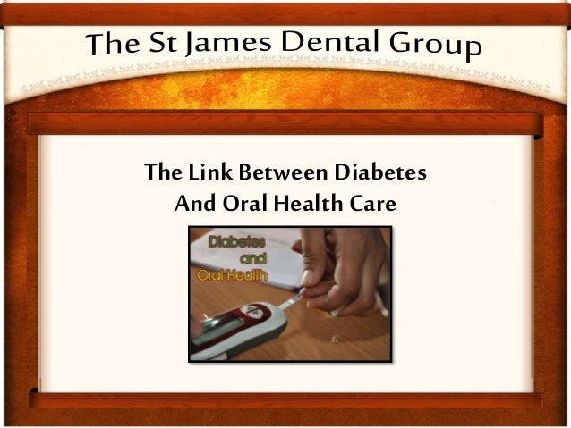 The Link Between Diabetes And Oral Health Care