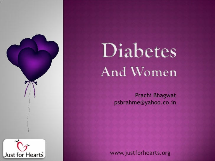 The What, Why & How of Diabetes in Women