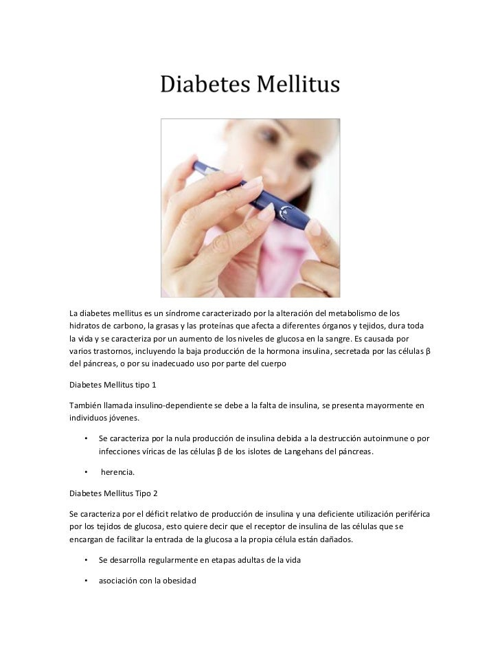 Diabetes diagnosticos de enfermeria y plan de cuidados