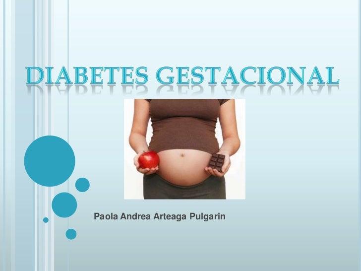 Diabetes gestacional (informatica)