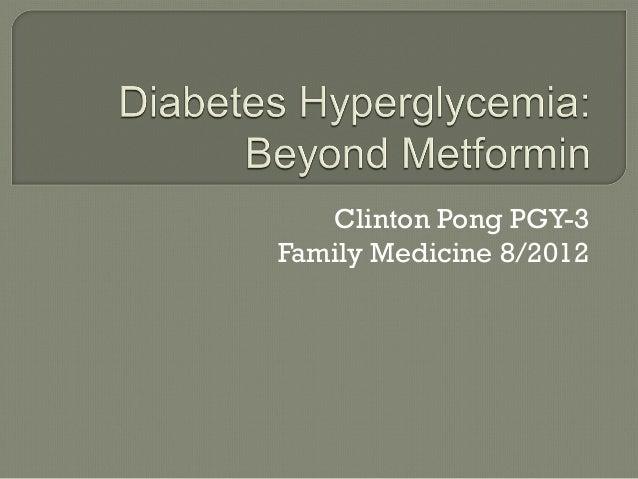Clinton Pong PGY-3Family Medicine 8/2012