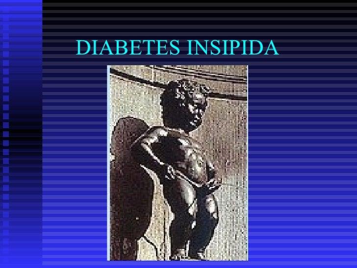 DIABETES INSIPIDA