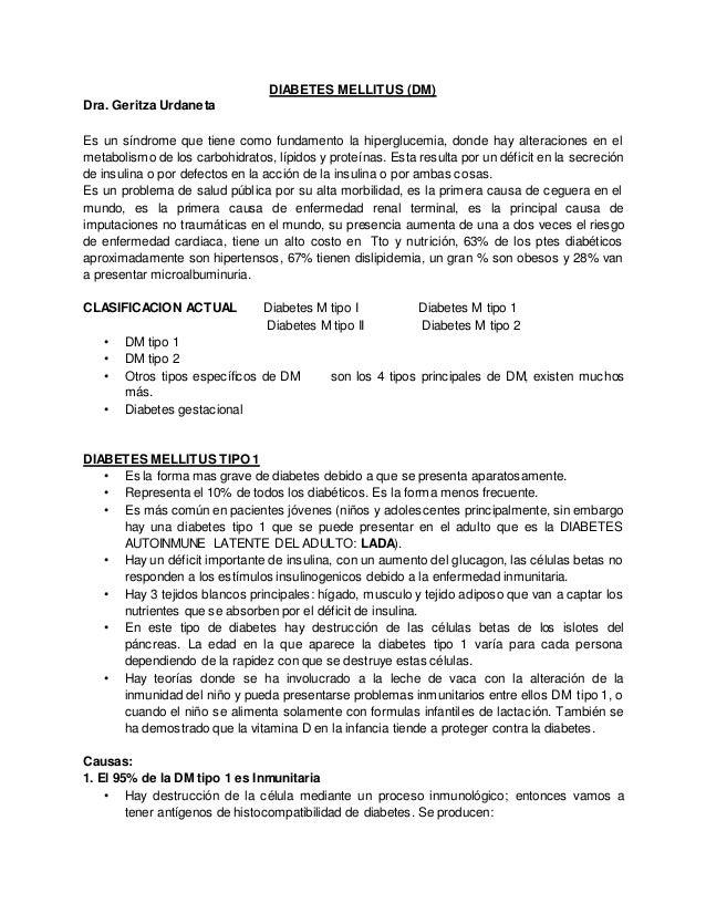 DIABETES MELLITUS (DM) Dra. Geritza Urdaneta Es un síndrome que tiene como fundamento la hiperglucemia, donde hay alteraci...