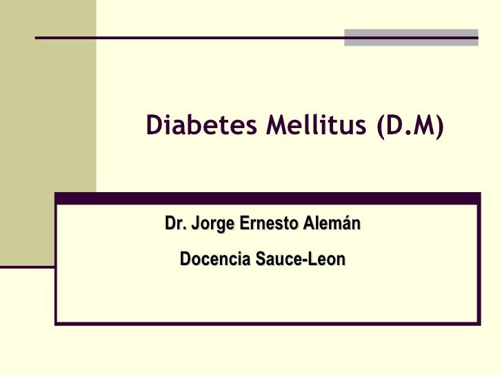 Diabetes Mellitus (D