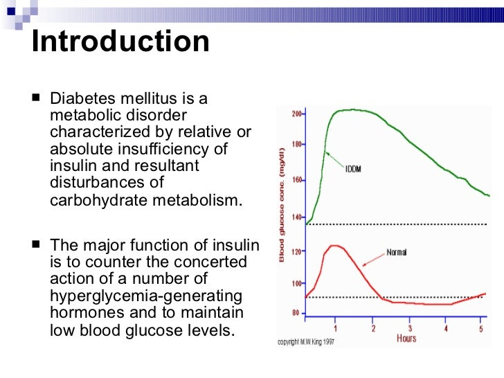 The History of Diabetes Mellitus