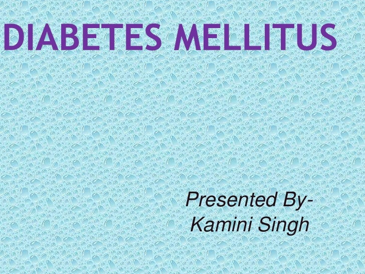 Diabetes mellitus & oral surgery
