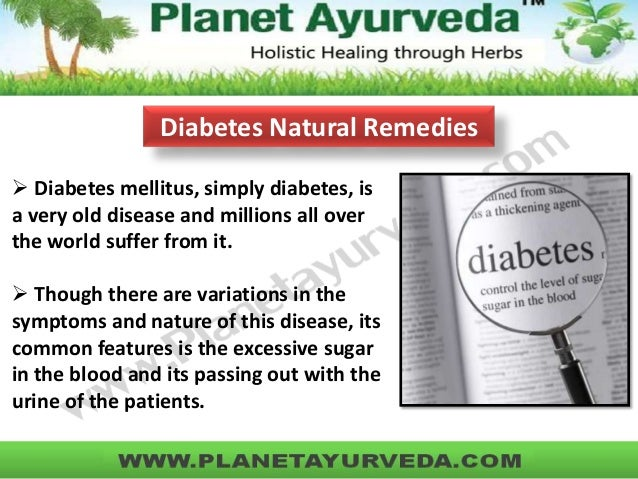Diabetes natural remedies