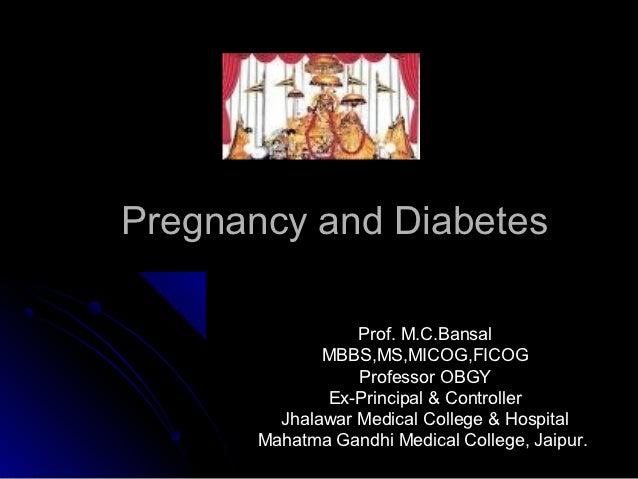 Diabetes&pregnancy